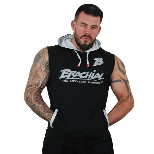 Безрукавка Brachial Tank-Top Boxer (черно-серая)