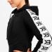 Укороченная толстовка Better Bodies Vesey Cropped Hood (черная)