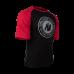 Футболка Gorilla Wear Texas (черно-красная)