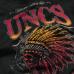 Футболка UNCS Indian (черно-оранжевая)