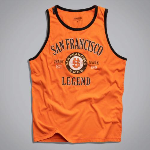Майка UNCS S. F. Legend (оранжевая)