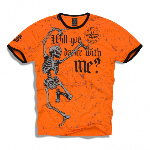 Футболка мужская BONES T-SHIRT (Оранжевый)