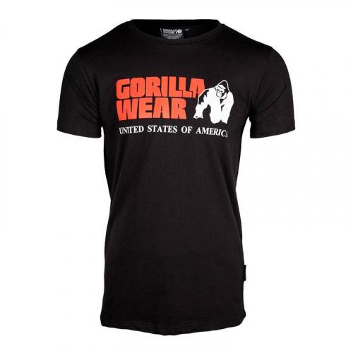 Футболка Gorilla Wear Classic (черная)