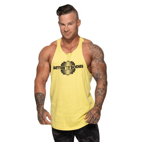Спортивная майка Better Bodies Team BB Stringer V2, Lemon Yellow