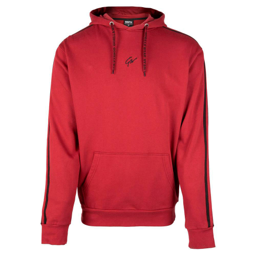 Толстовка с капюшоном Gorilla Wear Banks (Красно-черная)