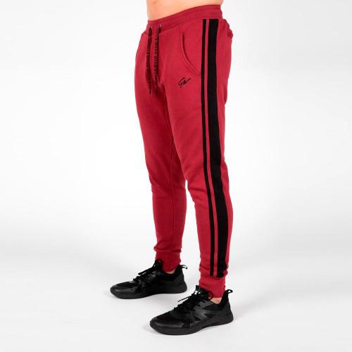 Спортивные брюки Gorilla Wear Banks (Красно-черные)