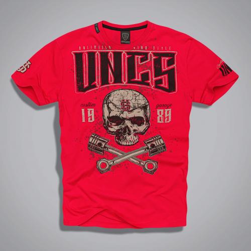 Футболка UNCS Wilder T-Shirt (красная)