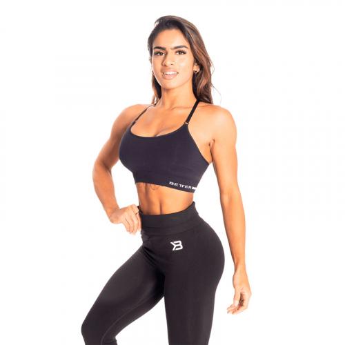 Спортивный топ Better Bodies Astoria Seamless Short Bra (черный)