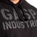 Кофта с капюшоном GASP Long Sleeve Thermal Hoodie, Black/Black